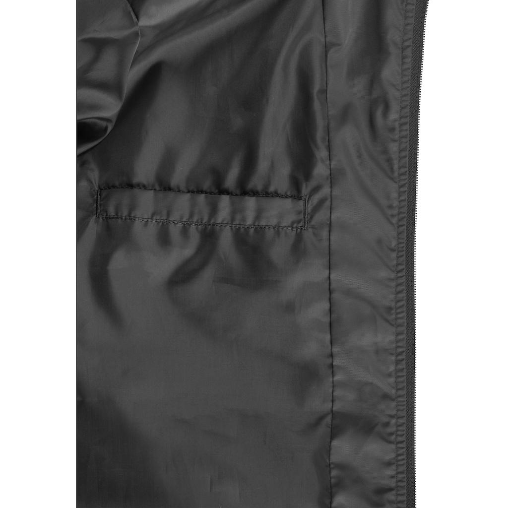Blend Windbreaker »Razy«, Übergangsjacke etwas länger geschnitten