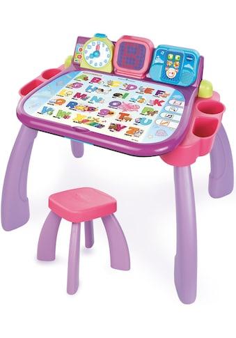 Vtech® Spieltisch »3 in 1 Magischer Schreibtisch, pink«, mit LED-Display kaufen
