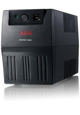 AEG USV »SoHo USV Protect alpha. 450VA / 240W, schwarz« kaufen