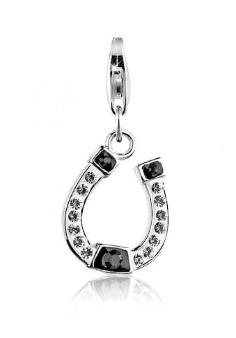 Nenalina Charm-Einhänger »Anhänger Hufeisen Kristalle 925 Silber« kaufen