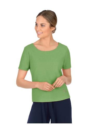 Trigema Sweatshirt, mit kurzen Ärmeln mit Kristallen von Swarovski kaufen