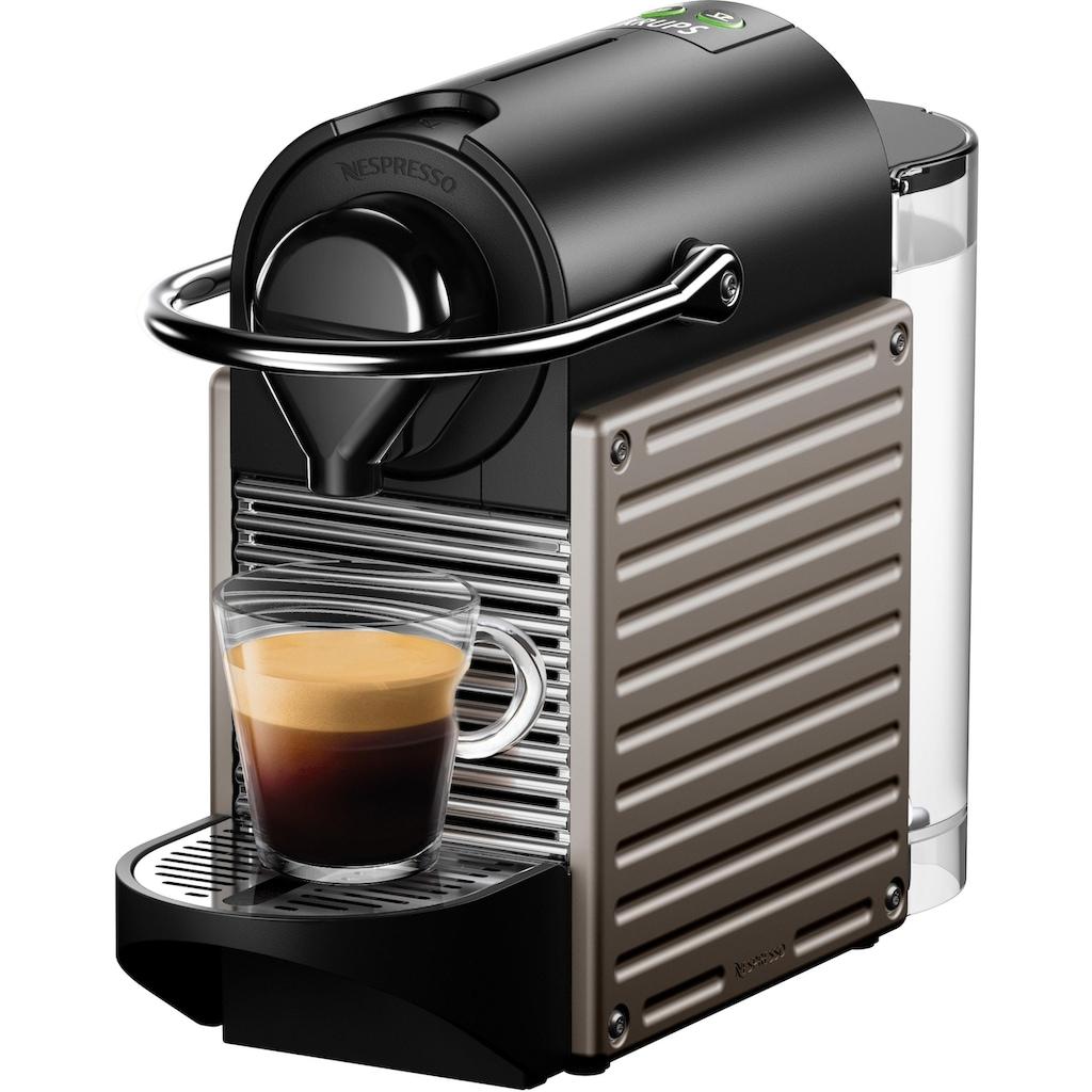 Nespresso Kapselmaschine »XN304T Pixie«, 0,7 Liter Wassertank, Power Off Funktion