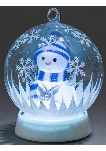 KONSTSMIDE LED Dekolicht, Farbwechsler, Glaskugel Schneemann für den Innenbereich, mit... kaufen
