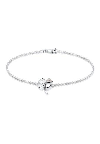 Elli Armband »Kleeblatt Swarovski Kristalle 925 Sterling Silber« kaufen