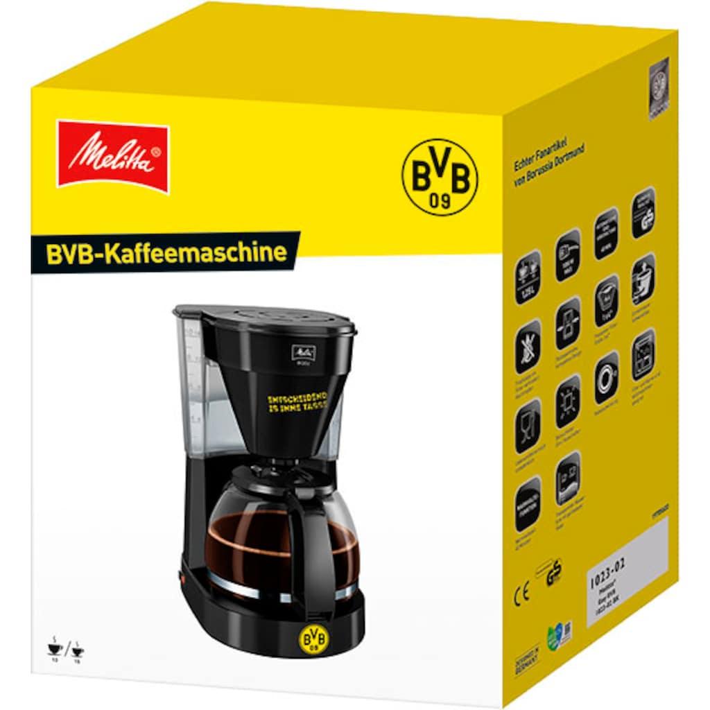 Melitta Filterkaffeemaschine »Easy BVB-Edition«, Korbfilter, 1x4