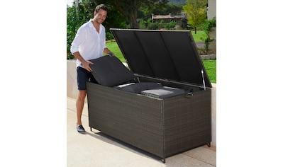 garten gut Auflagenbox »Santorini«, Polyrattan kaufen