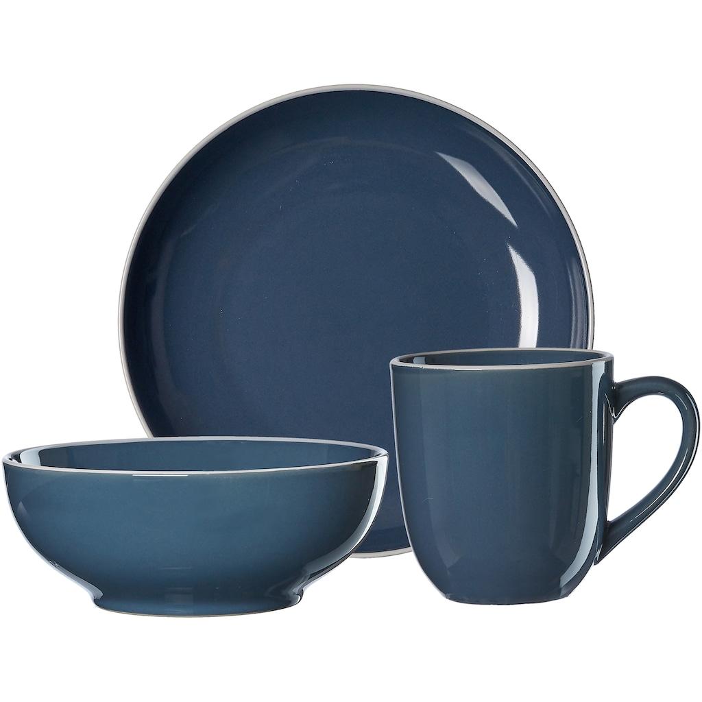 Ritzenhoff & Breker Frühstücks-Geschirrset »Linus«, (Set, 3 tlg.)