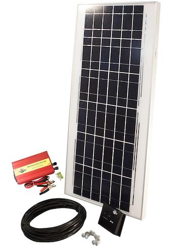 Sunset Solarmodul »Solarstrom-Einsteiger-Set«, für den Freizeitbereich, 45 Watt, 230 V kaufen