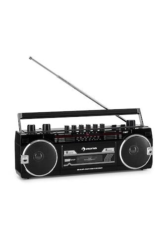 Auna Kassettenrekorder Radio BT USB SD Teleskopantenne »TTS2 - Cassette Rad - RD« kaufen