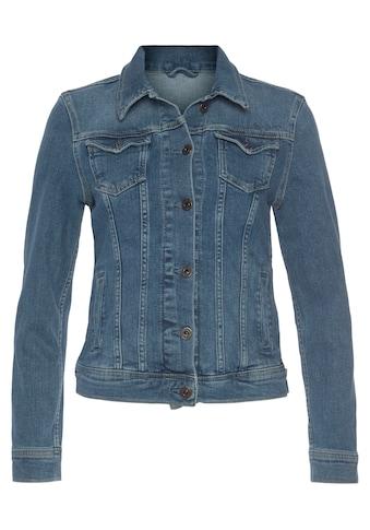 Pepe Jeans Jeansjacke »THRIFT«, mit vielen Teilungsnähten für eine optimale Passform kaufen