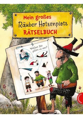 Buch »Mein großes Räuber Hotzenplotz-Rätselbuch / F. J. Tripp, Otfried Preußler,... kaufen