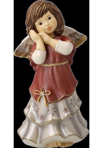 Goebel Engelfigur »Jahresengel 2021 - Friedliche Weihnachtszeit«, mit Zertifikat und... kaufen