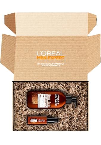 L'ORÉAL PARIS MEN EXPERT Bartpflege-Set »Barber Box«, (2 tlg.), Nachhaltige Box: 100 %... kaufen