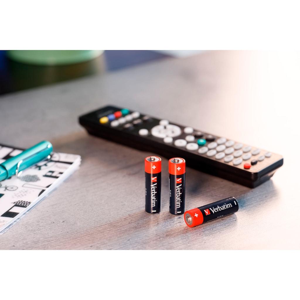 Verbatim Batterie »Batterie Alkaline, Micro, AAA, LR03, 1.5V, Retail Box, (24-Pack)«