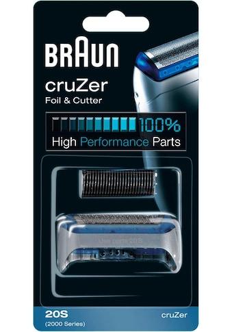 Braun Ersatzscherkopf »Kombipack 20S« kaufen