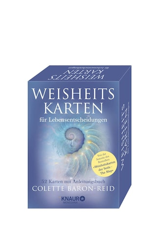 Buch »Weisheitskarten für Lebensentscheidungen / Colette Baron-Reid, Horst Kappen« kaufen