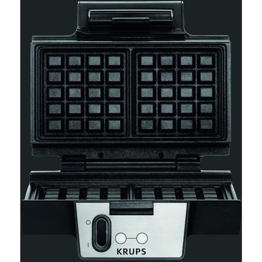 Krups Waffeleisen »FDK251«, 850 W, Antihaftbeschichtete Platten