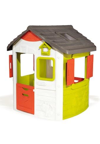 Smoby Spielhaus »Neo Jura Lodge«, (Set), langlebiger Kunststoff kaufen