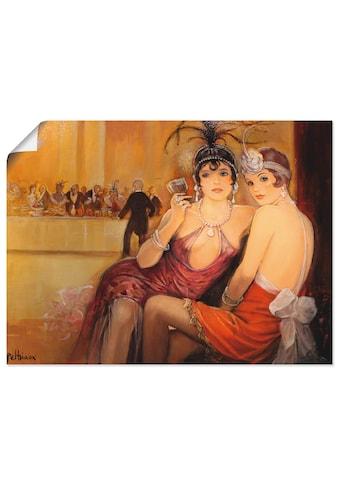 Artland Wandbild »Galadiner«, Frau, (1 St.), in vielen Größen & Produktarten - Alubild... kaufen