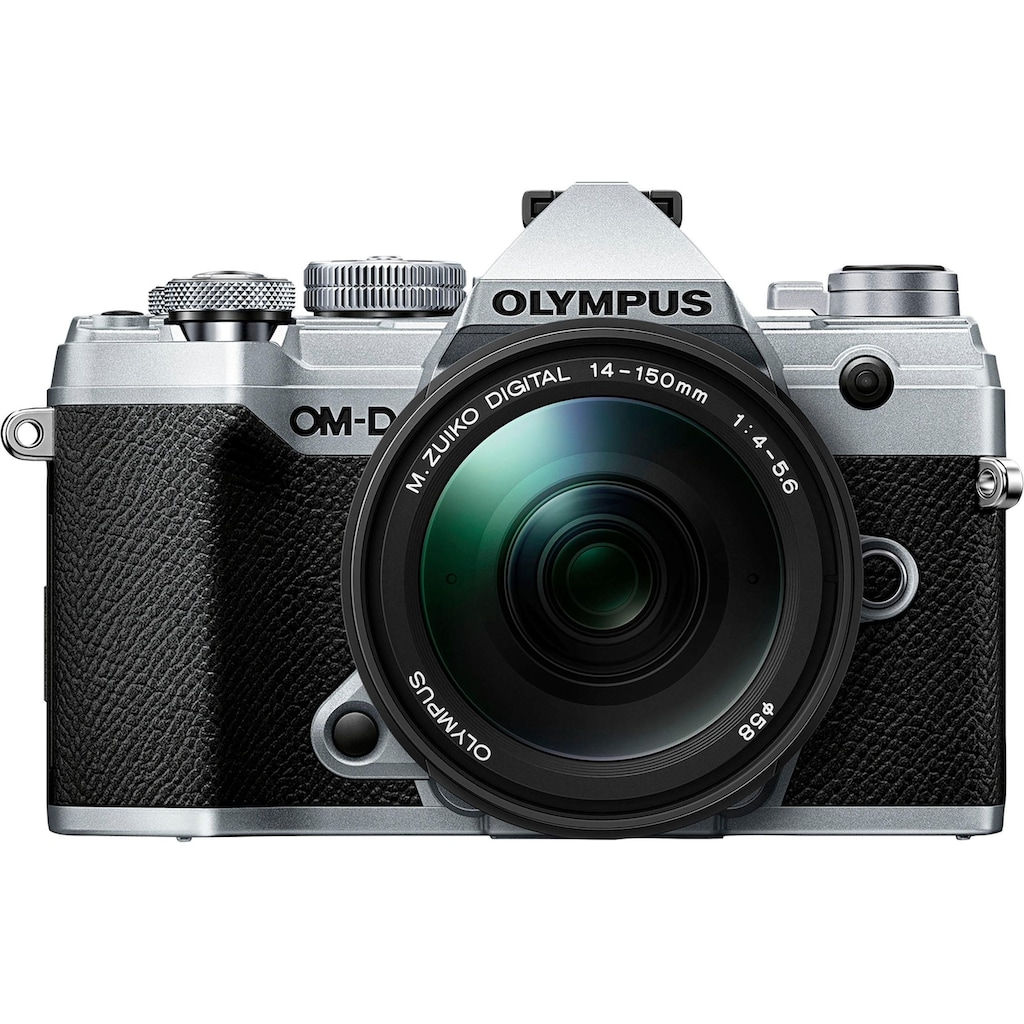 Olympus Systemkamera »OM-D E-M5 Mark III«, M.Zuiko Digital ED 14-150mm F/4-5.6, 20,4 MP, Bluetooth-NFC