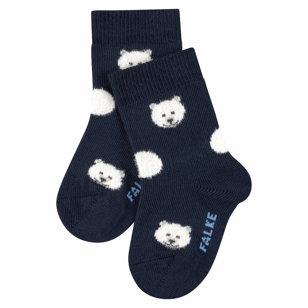 FALKE Socken »Baby Polar Bear«, (1 Paar), aus hautfreundlicher Baumwolle