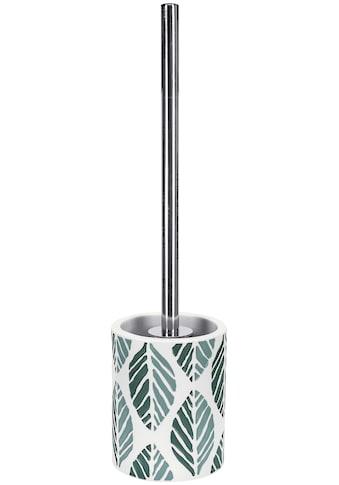 Kleine Wolke WC-Garnitur »Leaf«, Accessoire Serie mit geprägtem Blatt Design kaufen