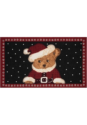HANSE Home Fußmatte »Teddybear«, rechteckig, 7 mm Höhe, Schmutzfangmatte, In- und... kaufen