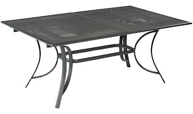 MERXX Gartentisch »Delphi«, Aluminiumguss, ausziehbar, 170(230)x100 cm kaufen
