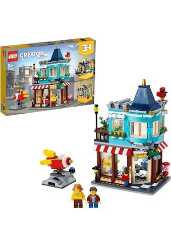 LEGO® Konstruktionsspielsteine »Spielzeugladen im Stadthaus (31105), LEGO® Creator«,... kaufen