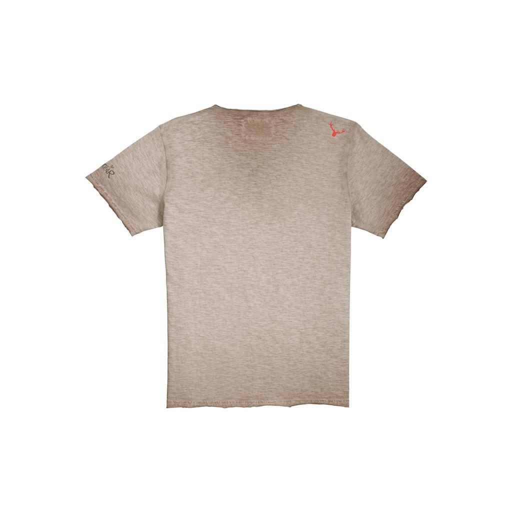 Hangowear Trachtenshirt, im Used-Look