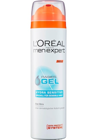 L'ORÉAL PARIS MEN EXPERT Rasiergel »Hydra Sensitive«, pflegt sensible Haut während &... kaufen