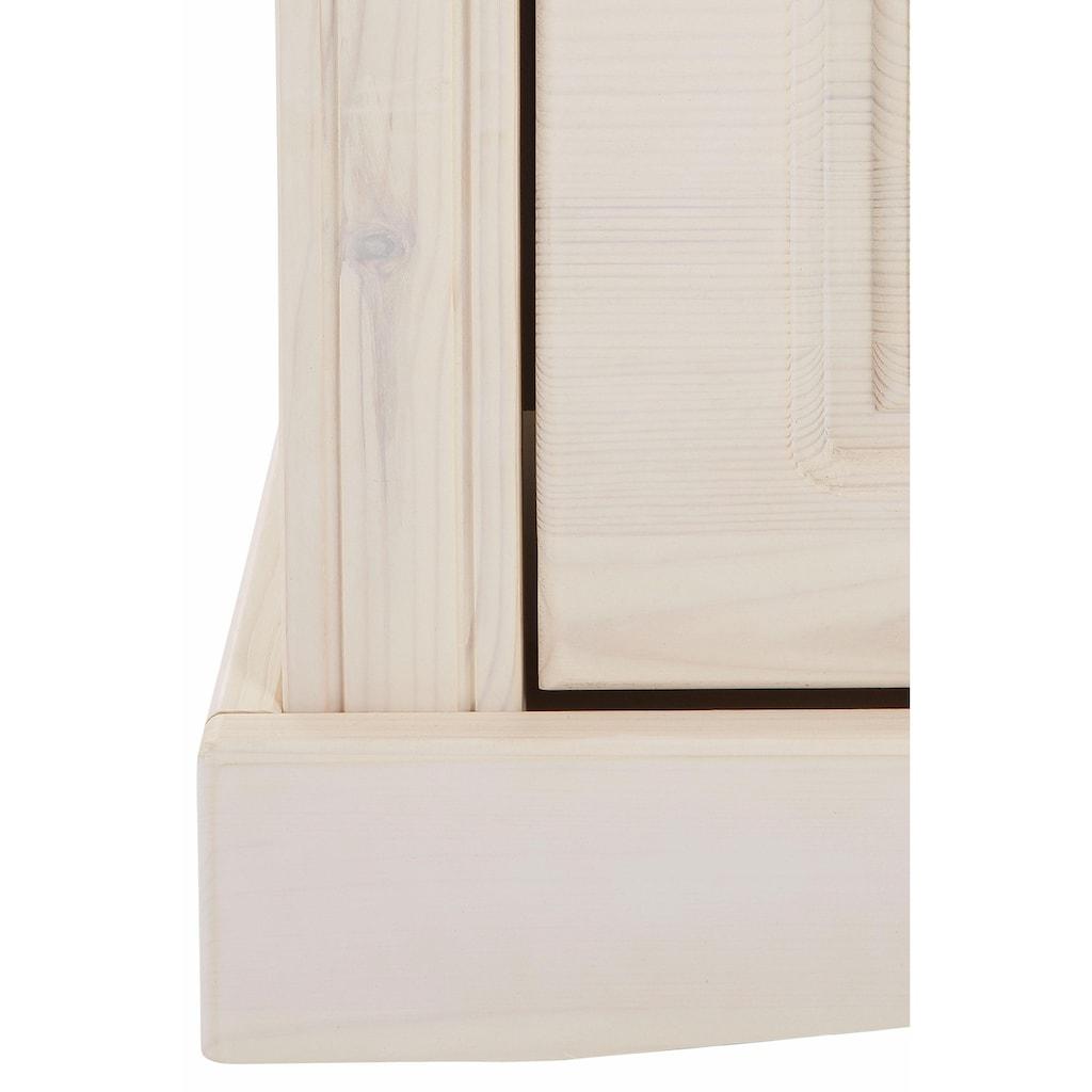 Home affaire Schuhkommode »Rustic«, aus massiver Kiefer, 130 cm breit