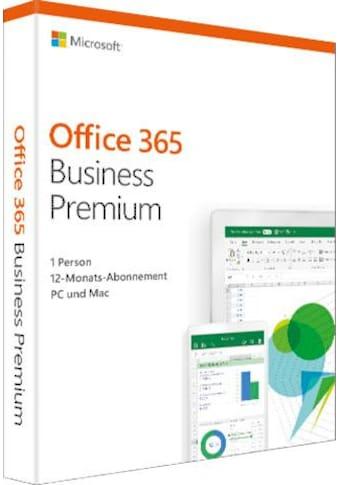 Microsoft Officeprogramm »Office 365 Business Premium« kaufen