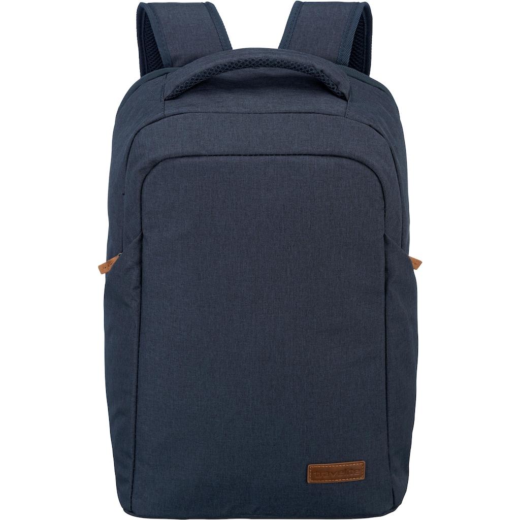 travelite Laptoprucksack »Basics Safety, Marine«