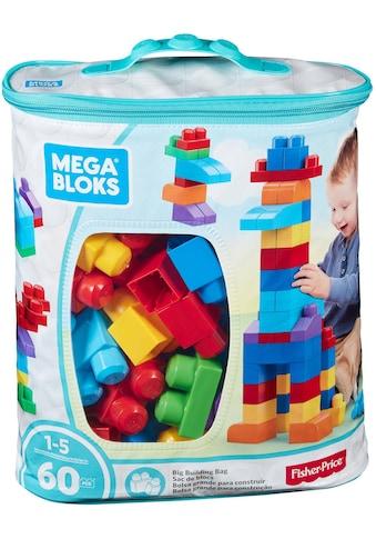 """Fisher - Price® Spielbausteine """"Mega Bloks, First Builders"""", Kunststoff, (60 - tlg.) kaufen"""