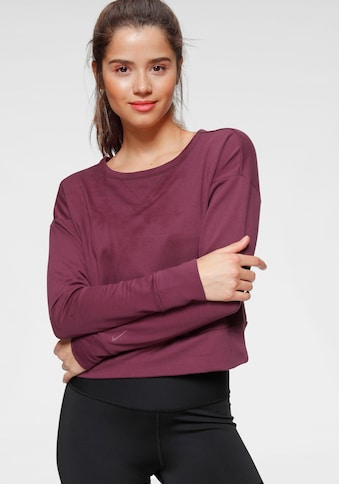 Nike Yogashirt »Nike Women's Long-Sleeve Yoga Train«, Outcut am Rücken kaufen
