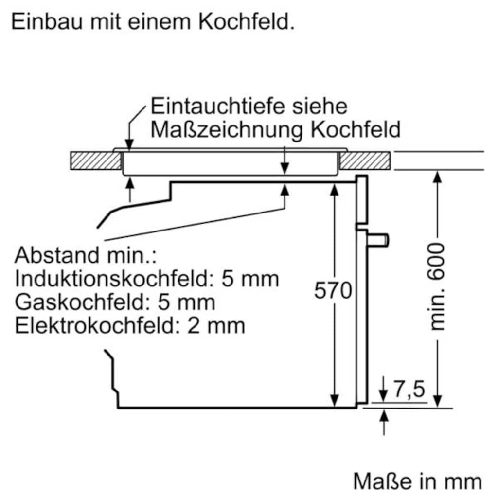 SIEMENS Induktions Herd-Set »EQ521IA00«, mit cookControl 10