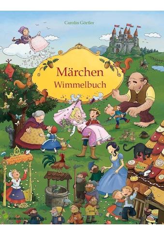 Buch »Märchen Wimmelbuch für Kinder ab 3 Jahren (Bilderbuch ab 3 Jahre, Mein Gebrüder... kaufen