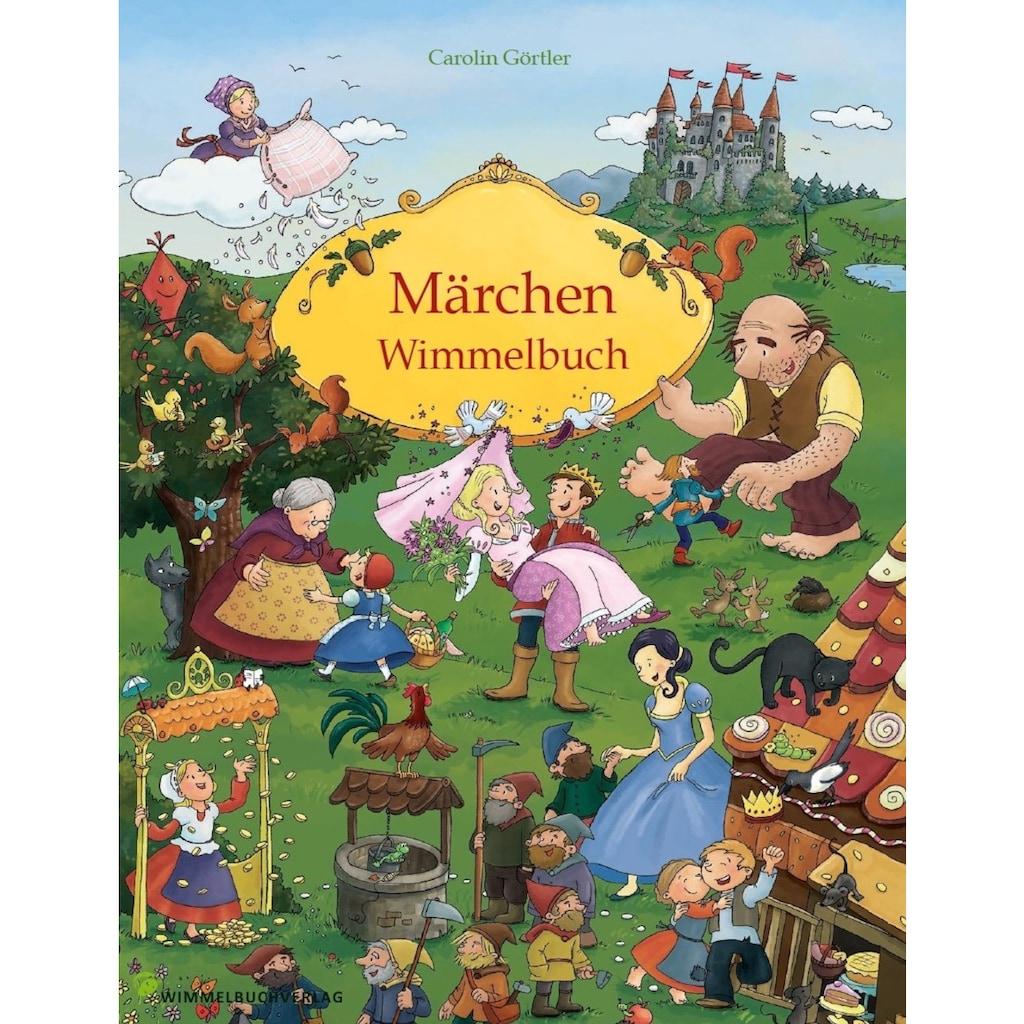 Buch »Märchen Wimmelbuch für Kinder ab 3 Jahren (Bilderbuch ab 3 Jahre, Mein Gebrüder Grimm Märchenbuch) / Carolin Görtler«