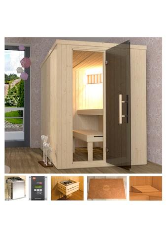 WEKA Sauna »Classic«, 154x194x199 cm, 7,5 kW Ofen mit ext. Steuerung kaufen