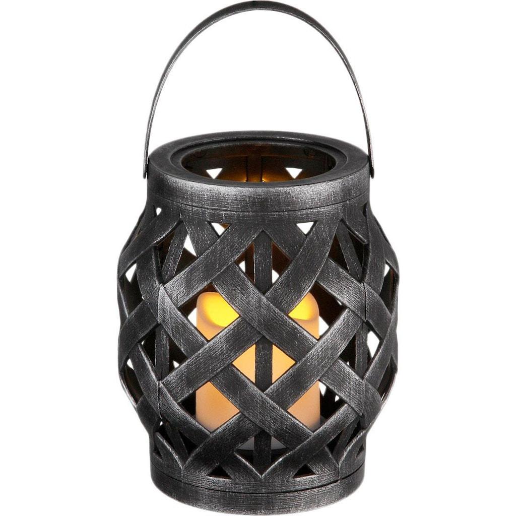 Home affaire Windlicht, inkl. LED Kerze