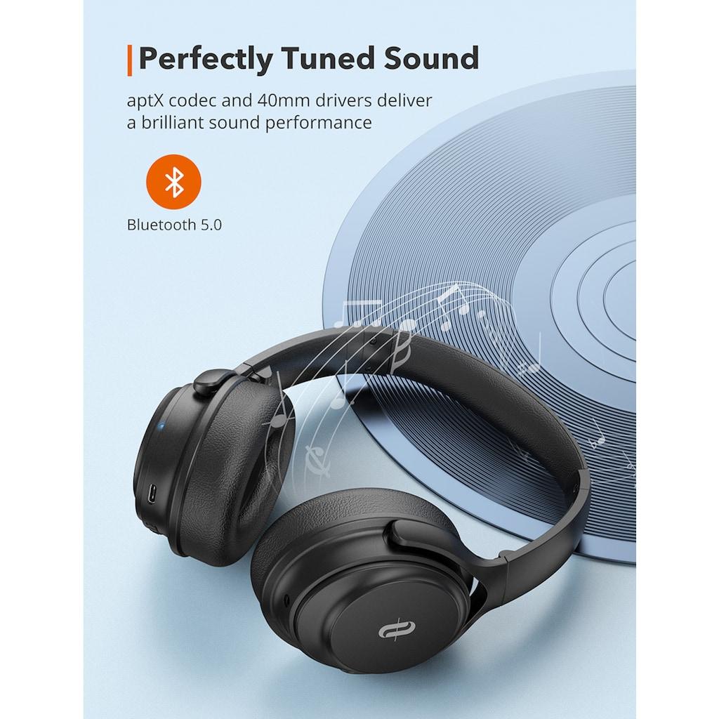 TaoTronics Over-Ear-Kopfhörer »TT-BH085«, Bluetooth, Active Noise Cancelling (ANC)-Geräuschisolierung, mit Geräuschunterdrückung