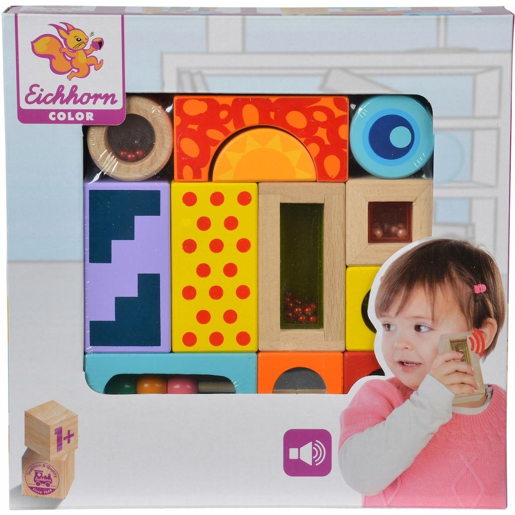 Eichhorn Spielbausteine »Color Klangbausteine, 12tlg.«, (12 St.)