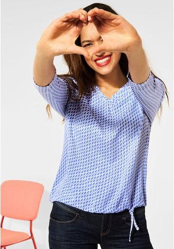 STREET ONE 3/4-Arm-Shirt, mit Minimal Muster kaufen