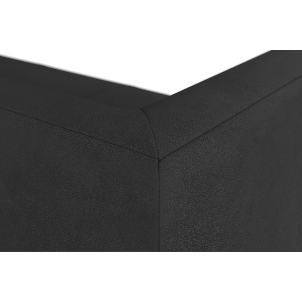 machalke® 3-Sitzer »wedge«, mit GRATIS Ledertasche