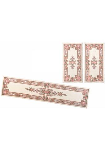 THEKO Bettumrandung »Ming«, Bettvorleger, Läufer-Set für das Schlafzimmer, hochwertiges Acrylgarn, florales Design kaufen