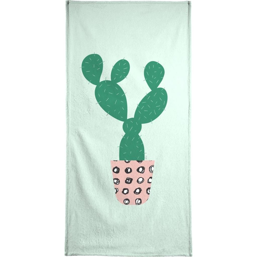 """Handtuch """"Cactus"""", Juniqe"""
