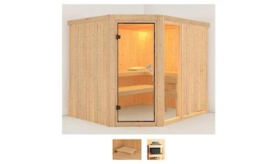 Karibu Sauna »Frigga 3«, ohne Ofen kaufen
