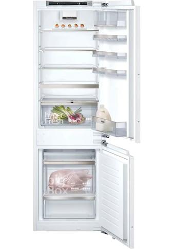 SIEMENS Einbaukühlgefrierkombination »KI86SADD0«, iQ500 kaufen