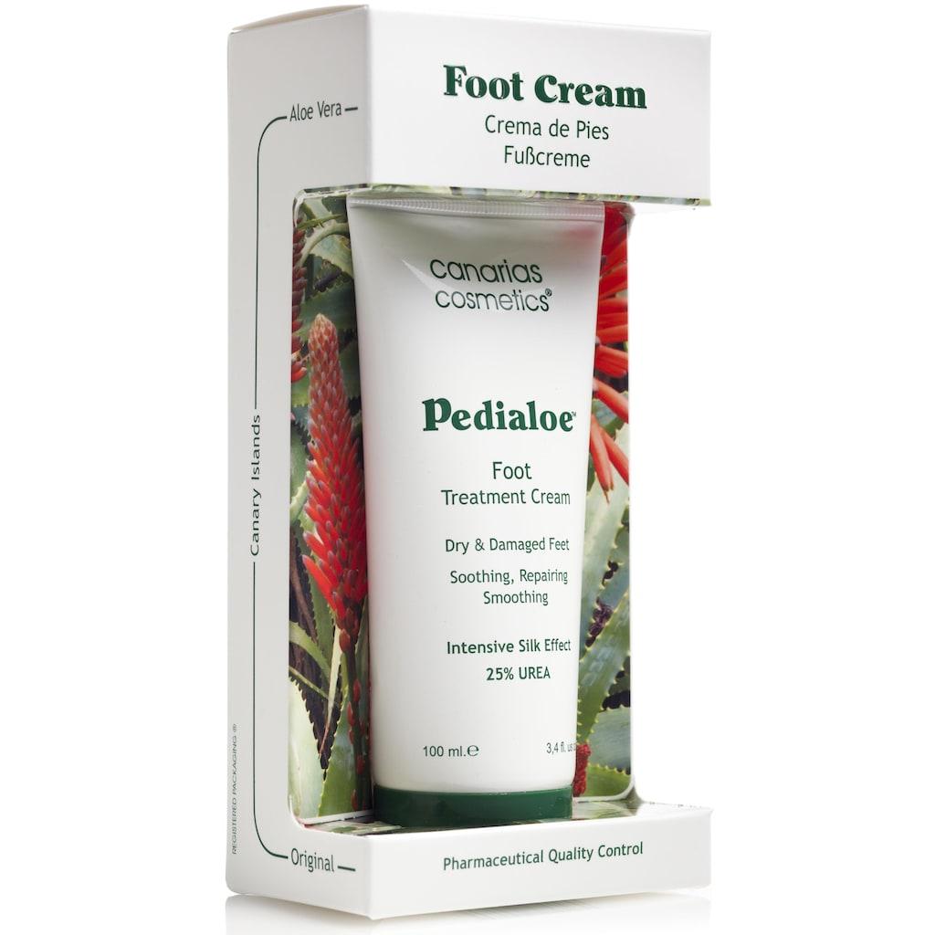 canarias cosmetics Fußcreme »Pedialoe«, mit 25 % Urea